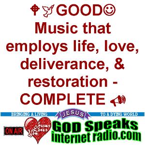 Radio GOD Speaks Internet Radio